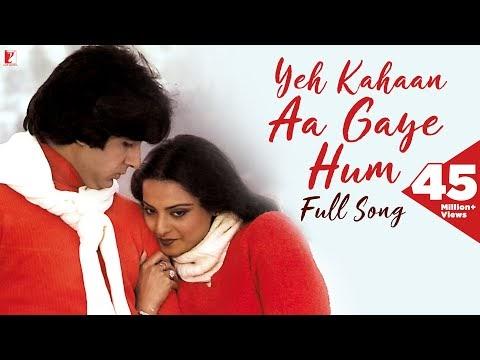 Yeh Kahan Aa Gaye Hum Lyrics - Silsila | Lata Mangeshkar |