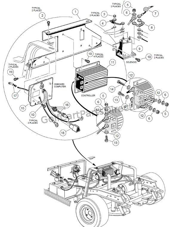 2006 Club Car Iq Wiring Diagram 48 Volt. looking for a ...