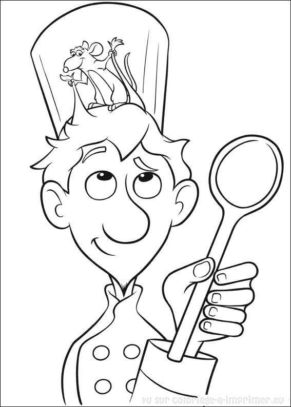 Coloriage à Imprimer Coloriage Ratatouille 052