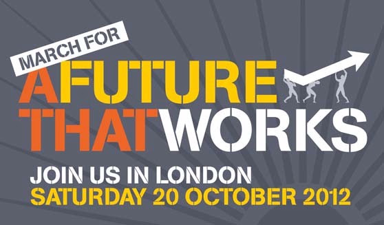 TUC march for a future that works