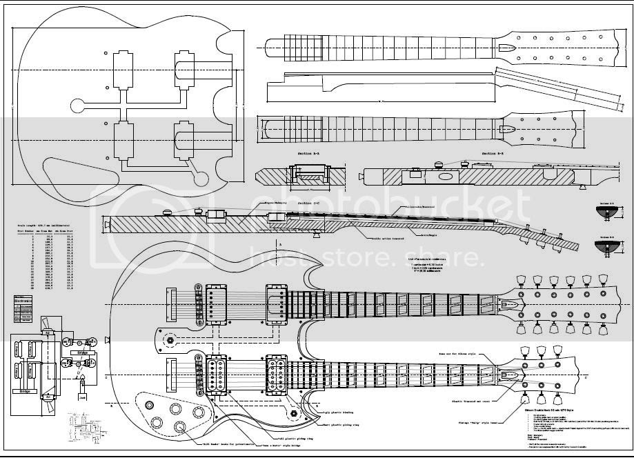 Printable Acoustic Guitar Plans Info