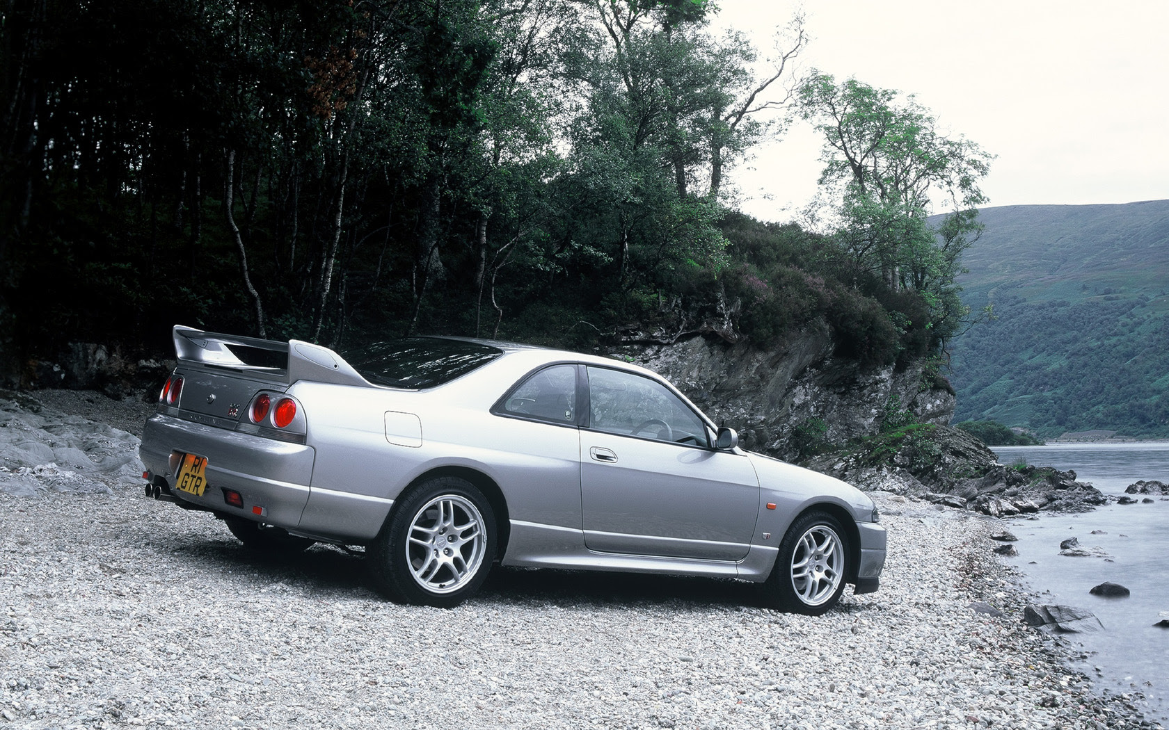 R33 Nissan Skyline Gtr Free Widescreen Wallpaper Desktop
