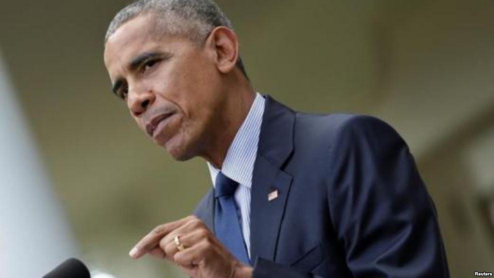 Presidente Barack Obama: Necesitamos tomar medidas contra Rusia. Y lo haremos