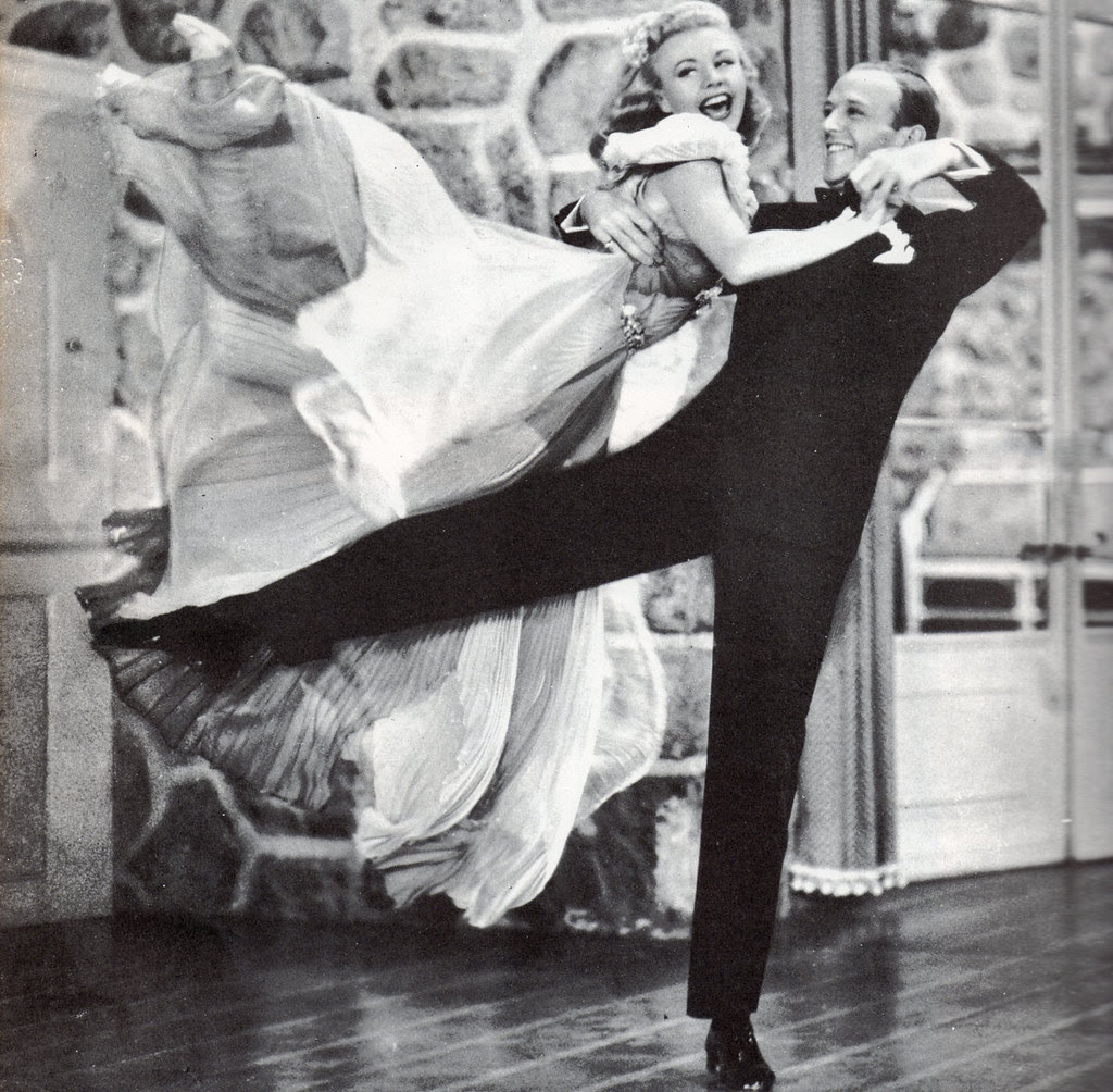 """Fred Astaire & Ginger Rogers in """"Carefree"""", 1938"""