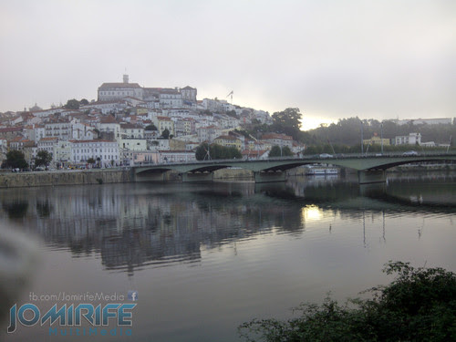 Nascer do dia em Coimbra com reflexo no rio Mondego [en] Dawn of the day in Coimbra with reflection in the river Mondego