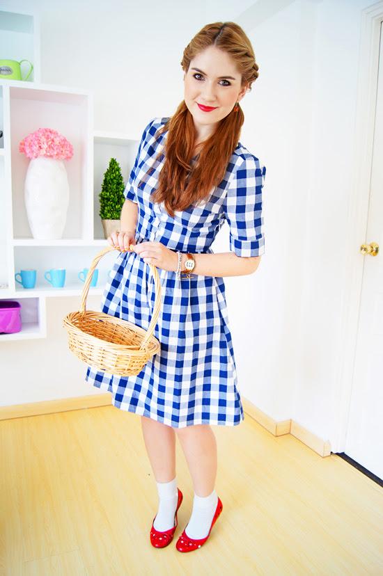 DIY Halloween Costume: Dorothy from Wizard of Oz