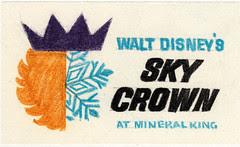 "Walt Disney's ""Sky Crown"" Logo 5"