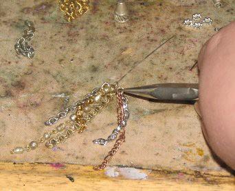 Vintage Chain Tassel 006