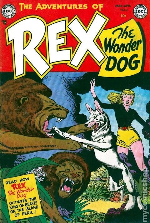 Rex The Wonder Dog Comics