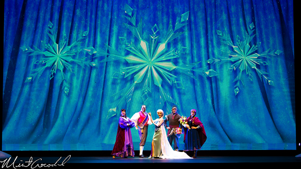 Disneyland Resort, Disney California Adventure, Frozen Fun, Frozen, Hollywood Land, Animation, Building, Muppet Vision 3D, For The First Time In Forever, Sing, Along, Celebration, Crown, Jewel, Theatre, Anna, Elsa, Kristoff