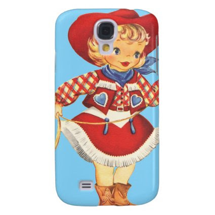 Connie Cowgirl Galaxy S4 Case