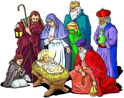 Οι τρεις μάγοι με τα δώρα