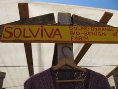 Solviva stand