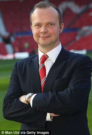 Under pressure: United chief executive Ed Woodward