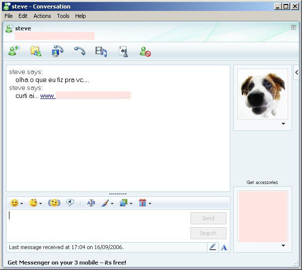 Virus par MSN
