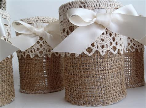 burlap lace wedding reception decor rustic weddings
