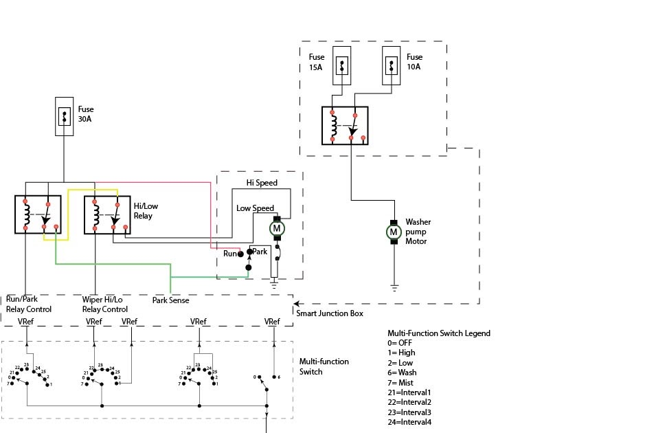 Ford Wiper Wiring Diagram