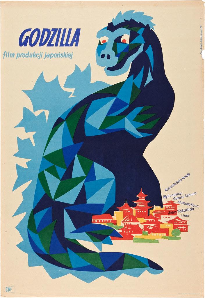 Godzilla (Toho, 1957) Polish