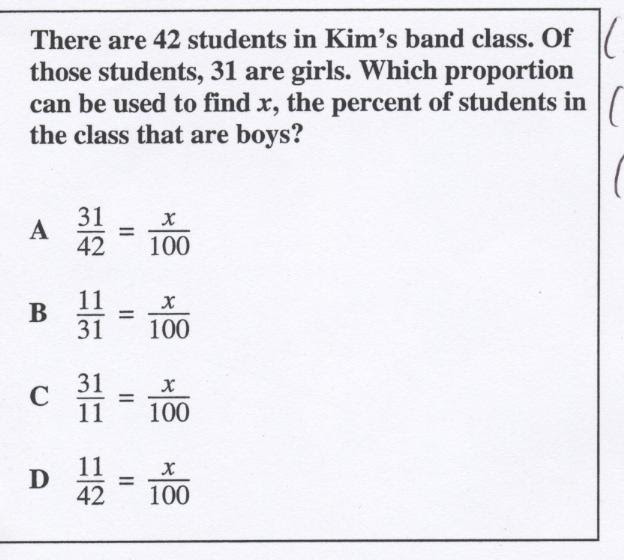 7th Grade Quiz: Math Benchmark Test - ProProfs Quiz