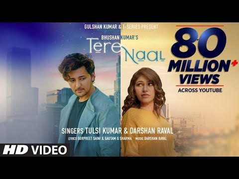 T-series latest song Tere Naal Lyrics- Tulsi kumar Darshan rawal