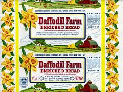 Daffodil Farm Bread Wrapper