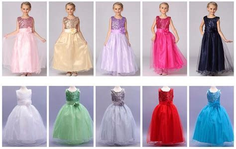 Fashion Girls Dress Princess Costume Girls Wedding Party