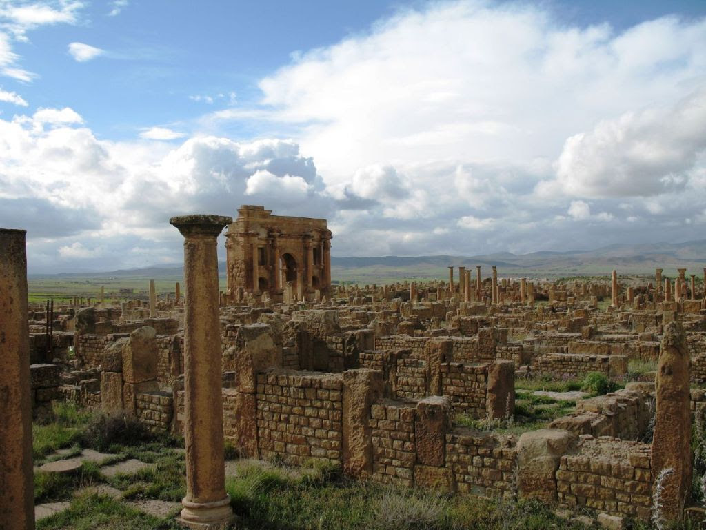 """Timgad Trajan"" by PhR61 - originally posted to Flickr as IMG_0882."