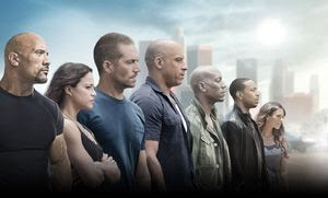 A promo pic for FURIOUS 7.