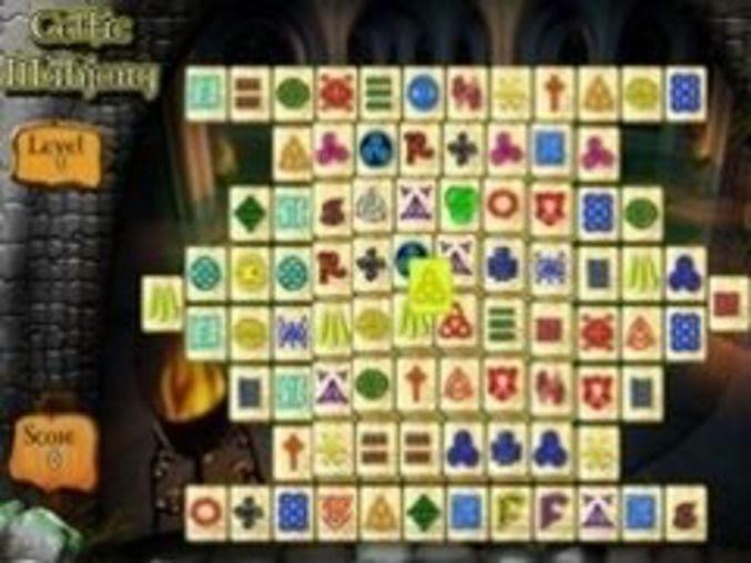 Mahjong Bildspielt