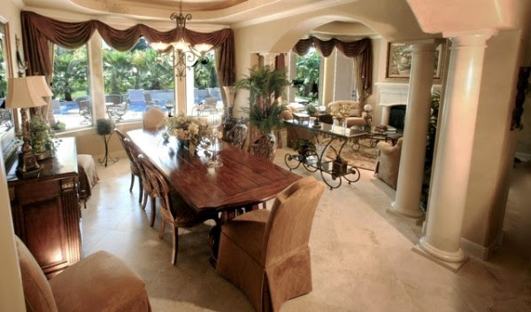 Formal Elegant Dining Room Design Ideas