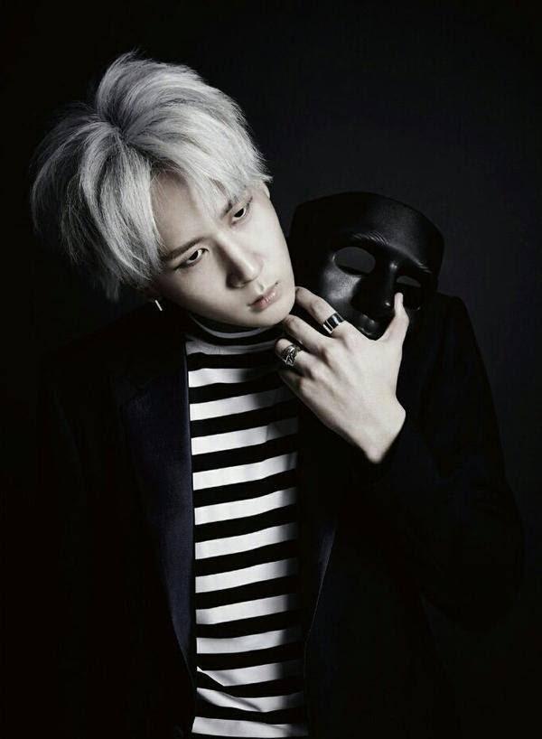 "VIXX LR ""Beautiful Liar""mini album jacketRAVI.  Ⓒchocobeannie."