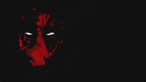cool deadpool wallpaper  red abstract mask  white