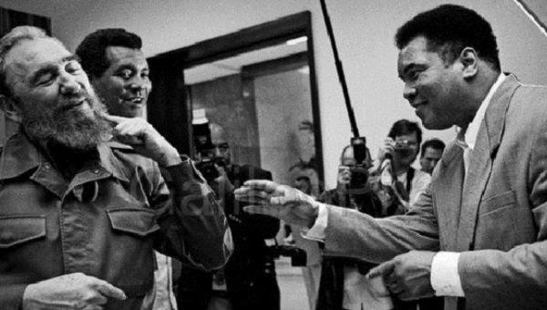 Fidel Castro y Muhammad Ali