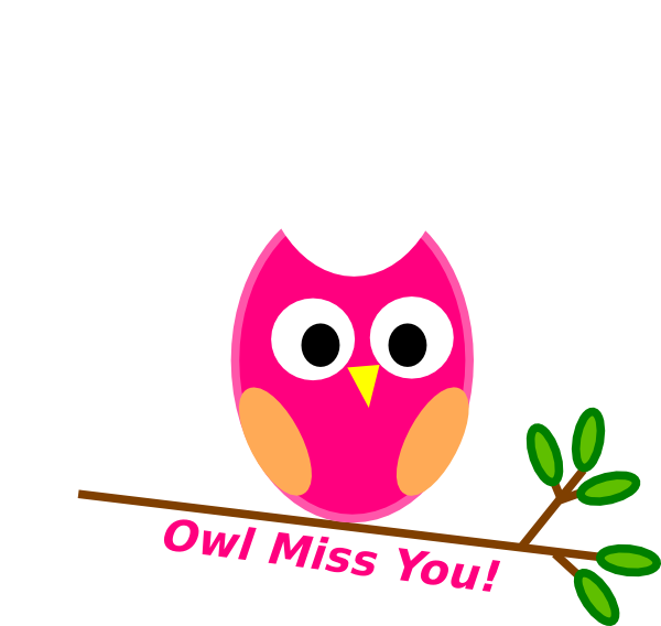 Will Miss You Free Clipart