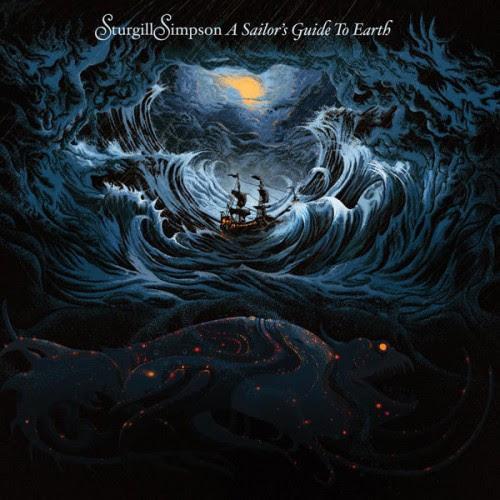 Bildresultat för sturgill simpson a sailor's guide to earth