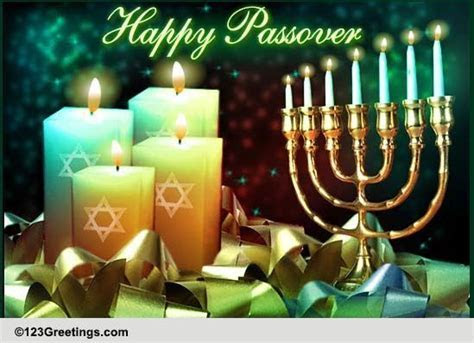 Special Passover Wishes! Free Happy Passover eCards
