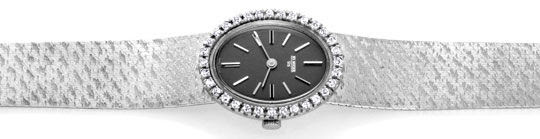 Originalfoto BRILLIANT-DAMEN-UHR DIAMANTEN WEISSGOLD