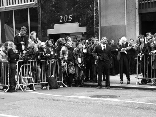 Paparazzi, Fashion Week