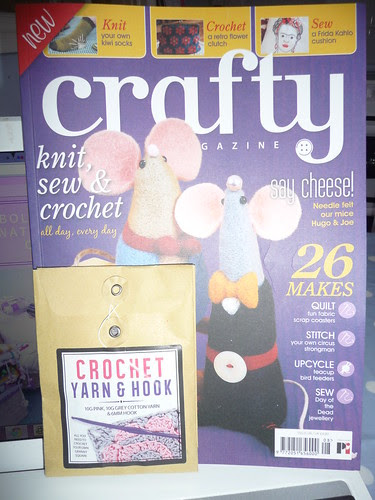 We're featured in 'Crafty' magazine. Issue 8.