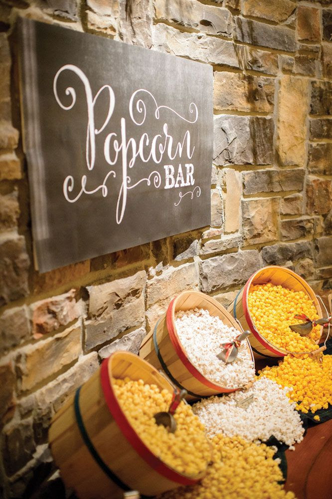 28 Exciting Popcorn Bar Ideas For Your Wedding Wedding Philippines