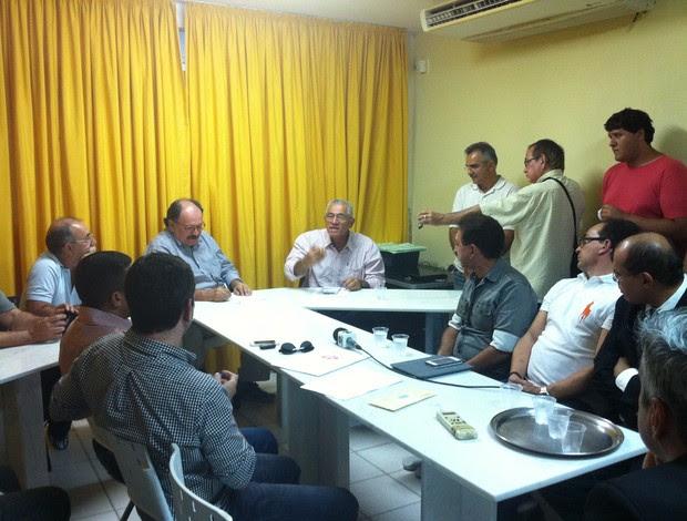 Presidente da Comissão Nacional de Arbitragem esteve em Natal nesta quinta-feira (Foto: Tiago Menezes)