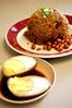 Kiam pung and Adobo Egg