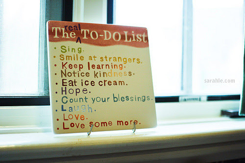 the-real-to-do-list