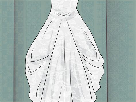 3 Ways to Bustle a Gown   wikiHow
