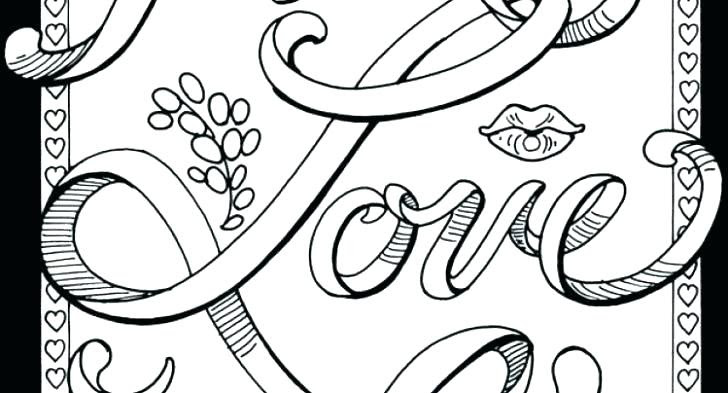 Curse Word Coloring Pages Free Printable at GetDrawings ...