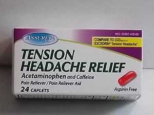 Amazon.com: Tension Headache Relief 24ct *Compare to ...