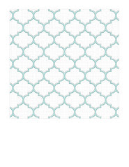 7x7 inch SQ JPG light turquoise Moroccan tile distressed paper LARGE SCALE
