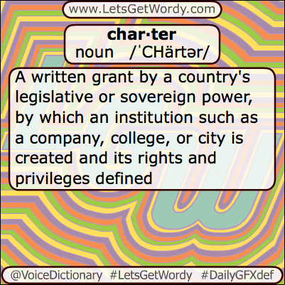 Charter 06/15/2013 GFX Definition of the Day