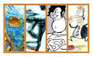 BD, Cartoon e Ilustração