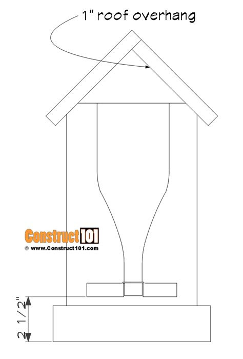Bottle Bird Feeder Plans - Construct101